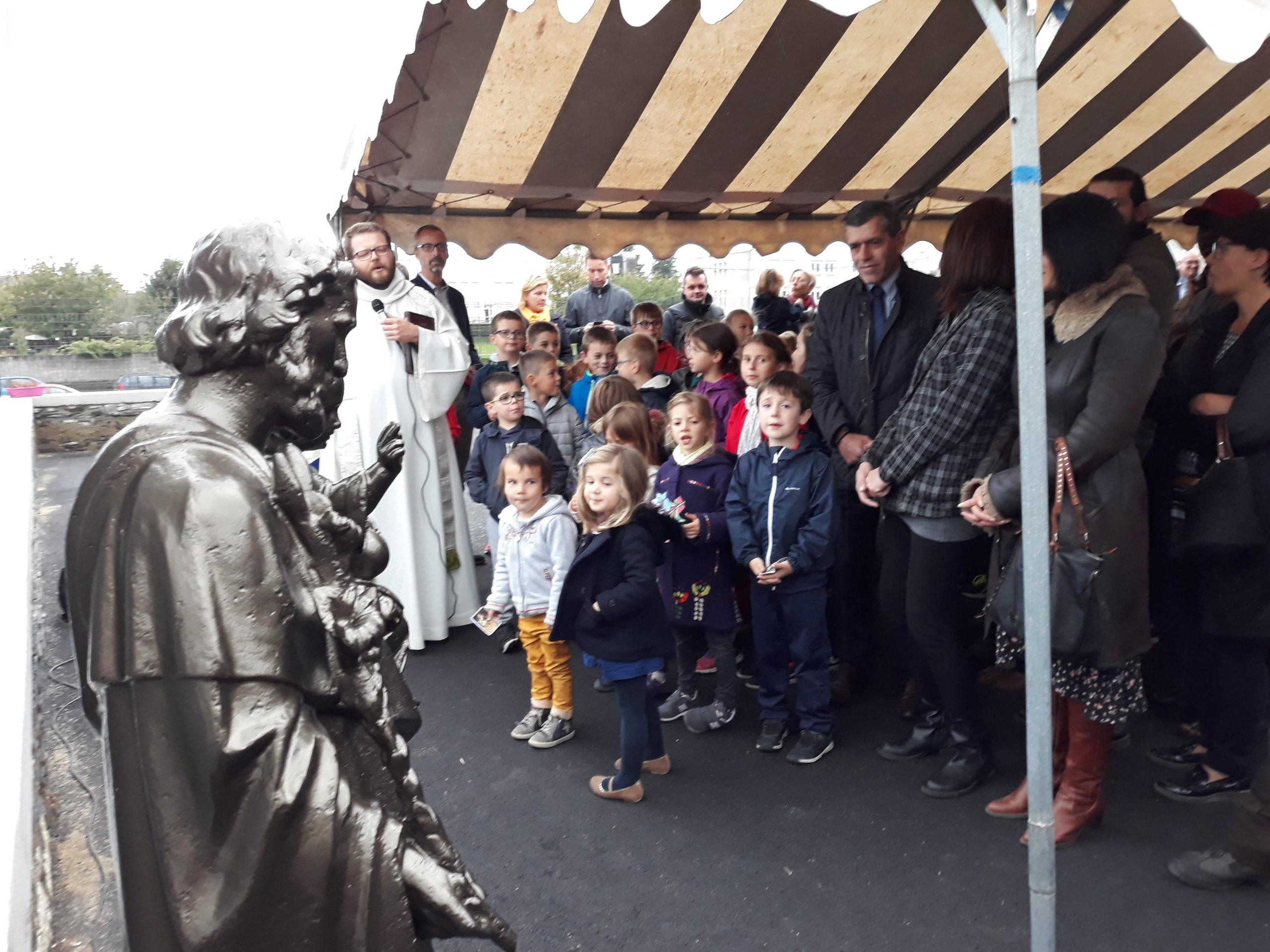Inauguration de la nouvelle statue et des locaux